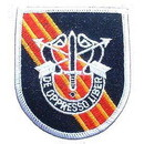 "Eagle Emblems PATCH-SPEC, FORCES, DE OPPR (FLASH) (3"")"