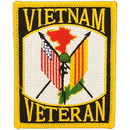 "Eagle Emblems PATCH-VIETNAM, VETERAN  (3"")"
