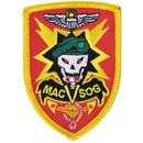 "Eagle Emblems PATCH-VIETNAM, MAC-V-SOG  (3"")"
