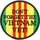 "Eagle Emblems PATCH-VIETNAM, DON'T FORGE  (3"")"