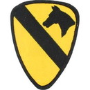 "Eagle Emblems PATCH-ARMY, 001ST CAV.DIV.  (3"")"