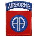 "Eagle Emblems PATCH-ARMY, 082ND A/B  (3"")"