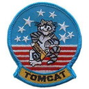 "Eagle Emblems PATCH-USN, TOMCAT  (3"")"