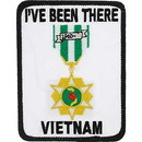 "Eagle Emblems PATCH-VIETNAM, I'VE BEEN  (3"")"