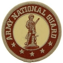 Eagle Emblems PM0758 Patch-Army, National Guard (Desert) (3