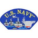 Eagle Emblems PM1336 Patch-Usn, Hat, Ships (3