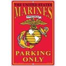 "Eagle Emblems SIGN-USMC, PARKING ONLY, II (RECTANGLE/SML) (8""X12"")"