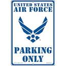 "Eagle Emblems SIGN-USAF, PARKING ONLY, II (RECTANGLE/SML) (8""X12"")"