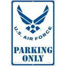 """Eagle Emblems SIGN-USAF, PARKING ONLY, II (RECTANGLE/LRG) (12""""X18"""")"""