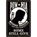 "Eagle Emblems SIGN-POW, SOME GAVE ALL (RECTANGLE/LRG) (12""X18"")"