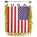 "Eagle Emblems MINI-BAN, INT, U.S.A. (3""X5"")"