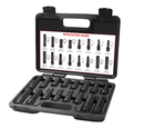 J S Products JS78537 16 Piece Locking Lugnut Master Key Set