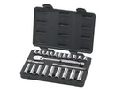 GearWrench KD80559 24 pc. 3/8 Drive Metric Socket Set