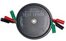 A & E Hand Tools KS1129 Retractable Test Leads - 3 Leads x 10 ft