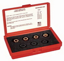 A & E Hand Tools KS2583 7 Piece Stud Thread Restoring Kit