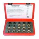 A & E Hand Tools KS2599 20 Piece Master Spindle Rethreading Dies