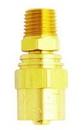 Milton MI621S 1/4NPT Male Reusable Brass Hose End
