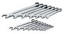 Sk Hand Tool SK86014 16 Piece 12 Point Fractional Combination Wrench Set