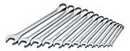 Sk Hand Tool SK86017 13 Piece 12 Point SAE Long Wrench Set 1/4-1