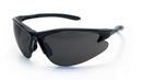 SAS Safety SS540-0601 DB2 Safety Glasses - Black Frame W/Shade Lens