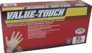 Sas Safety SS6594 Value-Touch X-Large Gloves Lightly Powdered