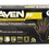 Sas Safety 66519 Raven Nitrile X-Large Black Powder-free Gloves