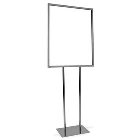"Econoco bh28 - 22"" x 28"" Bulletin Sign Holder w/ Flat Base, Pack of 1"