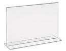 "Econoco HP-CT711H 11""W x 7""H Acrylic Bottom Load Counter Top"