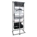 Econoco K30 3 Roll Polyethylene Horizontal Dispensing Rack  - Square Tubing
