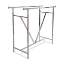 Econoco K41 Heavy Duty Double Bar Rack w/ V-Brace, 60'L X 22