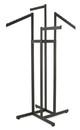Econoco K86-MAB 4-Way w/ 2 Straight and 2 Slant Arms - Rectangular Tubing
