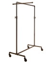 Econoco PSBBCB1ADJ Pipeline Adjustable Ballet Rack with One Cross Bar, 44