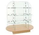 Econoco WDGLOVMP Glass Merchandiser with Oval base, 55