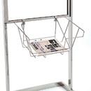 Econoco WSB2 Wire Literature Basket for Bulletin Sign Holder, 18