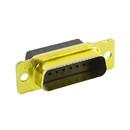 EDMO 2052069 D SUB CONNECTOR/Male, 15 position, 2 row, wire mount, crimp. ROHS compliant