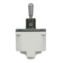 EDMO 8500K2 Toggle Switch/Spst (Single Pole Single Throw), On-Off-On, Panel Mount, Screw Terminals, Environmentally Sealed.