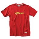 EDMO M-SST-CEPL-01-HR-LG Cessna Plane T-Shirt/Heritage Red/Short Sleeve/Large