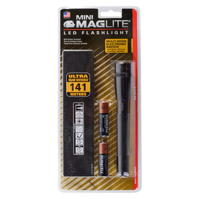 Mag-Lite SP2209H Mini Maglite/Led 2 Cell Aa/Gry, Price/1