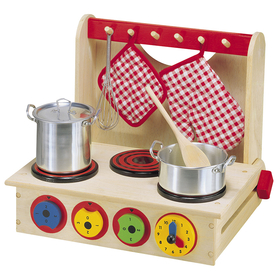 Alex By Panline USA ALE13 Wooden Cook Top Ages 3 Up, Price/EA
