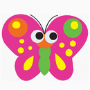 Ashley Productions ASH10008 Magnetic Whiteboard Butterfly Erasers