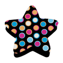 Ashley Productions ASH10026 Magnetic Whiteboard Star Dots Erasers