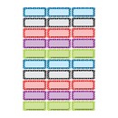 Ashley Productions ASH10079 Die Cut Magnets Assorted Color Dots - Nameplates