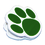 Ashley Productions ASH10224 Magnet Clips Green Paw