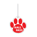 Ashley Productions ASH10353 Red Paw Hall Pass 4 X 4