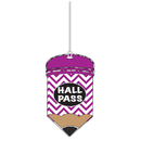 Ashley Productions ASH10445 Chevron Pencil Hall Pass