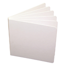 Ashley Productions ASH10704 White Hardcover Blank Book 5 X 5