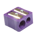 Baumgartens BAUMMR3320 Dual Hole Plastic Pencil Sharpener