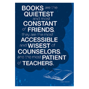 Barker Creek & Lasting Lessons BCP1829 Poster - Books Most Constant Of Friends