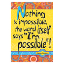 Barker Creek & Lasting Lessons BCP1833 Poster - Nothing Is Impossible