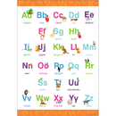 Barker Creek & Lasting Lessons BCP1838 Early Learning Poster Upper & Lowercase Letters